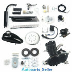 Full Kit 50cc 2 Stroke Motor Engine Kit Gas for Motorized Bicycle Bike Black NEW