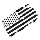 Garnish USA Flag Style Hood Fit for Jeep Wrangler Window Graphics Sticker Decal