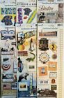 Pick 1 Paper House Productions StickyPix Cardstock Scrapbook Stickers Travel