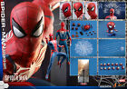 Hot Toys Spider Man Advanced Suit 1 6 Figure Marvel Video Game DBL Boxed