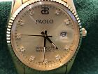Men's Paolo watch designed by Gucci,