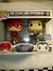 FUNKO POP! EXCLUSIVE NYCC JUSTICE LEAGUE - THE FLASH and SUPERMAN 2 PACK