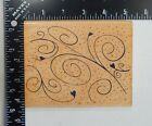 Hero Arts Raindrops And Swirls Rubber Stamp S1834