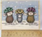 Stampabilities House Mouse Wooden Rubber Stamp Wrapped  Ready HMOR1006