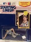 1990 Paul Molitor Starting Lineup figure Card kenner toy Milwaukee Brewers RC