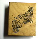 Inkers A Way Rubber Stamp Scrapbook PaperCraft Keep On Truckin Man 225 x 2