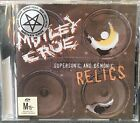 MOTLEY CRUE Supersonic And Demonic Relics RARE CD Bonus Tracks