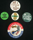 Lot of 5 Jimmy Carter 1976 Presidential