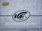 2017 18 Upper Deck Ice Hockey Hobby 6 Pack Box (Sealed)(Random)