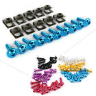 10Pcs M5 Fairing Bolts Kit Spire Speed Fastener Clip Screw Universal For Scooter