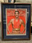 MICHAEL PHELPS OLYMPIC GOLD MEDALIST SWIMMER 21X26 SIGNED FRAMED PHOTO GRANDSTAN