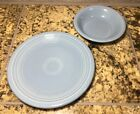 Fiesta Fiestaware Periwinkle Salad Plate Fruit Bowl Homer Laughlin