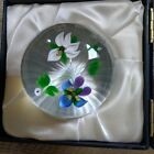 CAITHNESS WHITEFRIARS GLASS PAPERWEIGHT NOSEGAY