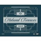 2019 Panini National Treasures Collegiate Football Factory Sealed Hobby Box NFL