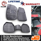 Weather Car Floor Mat Universal Set Carpet Mats Rug Truck For SUV Deluxe Rubber