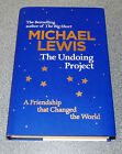 THE UNDOING PROJECT MICHAEL LEWIS 1ST EDITION 2017 SIGNED HARDBACK RARE