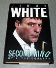 SECOND WIND JIMMY WHITE AUTOBIOGRAPHY 1ST ED 2014 SIGNED HB SNOOKER RARE