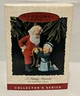 VTG 1993 Hallmark Keepsake Christmas Ornament A Fitting Moment Mr and Mrs Claus