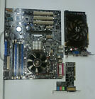 ASUS A8V E MOTHERBOARD COMBO AMD ATHLON 64 x2 4200+ WITH NVIDIA GEFORCE 9800GT