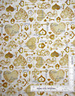 Wedding Love Amour Heart Key Lock Cotton Fabric QT I Do Collection By The Yard