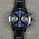 SABINA VINTAGE CHRONOGRAPH 39MM STAINLESS STEEL BLUE SILVER DIAL VALJOUX 7733