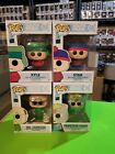 Funko Pop! South Park set of 4 with funko specialty series Vinyl figure