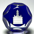 Rare Baccarat 1987 Faneuil Hall Sulphide Paperweight Shreve Crump Low Special