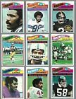 1977 TOPPS FOOTBALL COMPLETE SET (1-528) LARGENT ROOKIE PAYTON EX - N MINT+