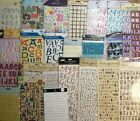 Pick 1 NEW Alphabet Letter Scrapbook Stickers Sticko Making Memories K