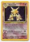 Alakazam Base Set 1 102 Holo foil Rare Collectible Pokemon Card MP