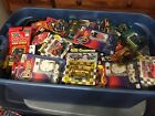 NASCAR Collection Lot 17 1:64 Scale Diecast Cars Cards Display Case 158 items!