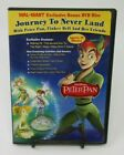 JOURNEY TO NEVERLAND WITH PETER PAN TINKER BELL  FRIENDS ANIMATED DVD GUC