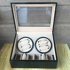 Automatic Watch Winder Display Box/case Wood