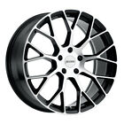 4 New 19x8 Petrol P2b Black-gloss Wheelrim 5x114 Et40 5-114