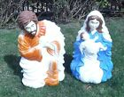 Grand Venture 1999 blow mold Christmas nativity set 28 inch figures