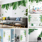 Removable Leaf Decal Mural Decoration Door Decor Wall Sticker Room Wall Art