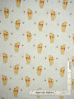 Disney Winnie The Pooh Bear Bee Dots On Cream Cotton Fabric Camelot By The Yard