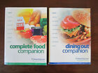 2 WEIGHT WATCHERS 2003 Flex Points Books Complete Food  Dining Out Companion