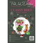 Pink Ink Designs A5 Clear Stamp Set Classy Bird Wings Series