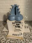 Fiesta Periwinkle Blue  Pyramid Candle Holder, retired, first quality, NIB