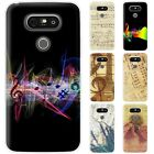 Dessana Music Notes TPU Silicone Protection Cover Case Pouch Cover for Lg