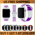 Sport Silicone Wrist iWatch Strap Band For Apple Watch SERIES 1 2 3 4 5 38 44MM