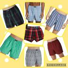 NWT Polo Ralph Lauren Woven Boxer Classic Fit Shorts Red Blue Holiday Pla