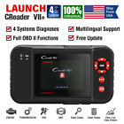 Luanch Creader Crp123x Vii Obd2 Code Reader Scanner 4 Systems Abs Srs Engine At