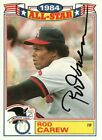 Rod Carew Cards, Rookie Cards and Autographed Memorabilia Guide 33