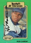 Rod Carew Cards, Rookie Cards and Autographed Memorabilia Guide 35
