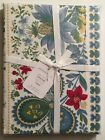 NWT Williams Sonoma Berry Meadow Tablecloth White Provence 70 x 108 Free Ship