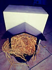 Lenox Large Wooden Nativity Stable Creche Excellent Condition with hay