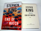 Stephen King Signed Autograph End of Watch 1st Edition Book Mr Mercedes Trilogy