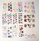 Creative Memories Sticker Sheet Lot 20 Baby Its a Girl Toys Gifts Bows 2 x 5